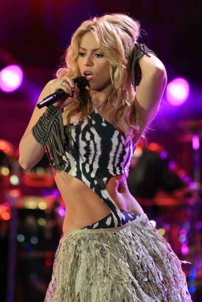 Uno de los mejores temas de los Mundiales fue  'Waka Waka' de Shakira y...