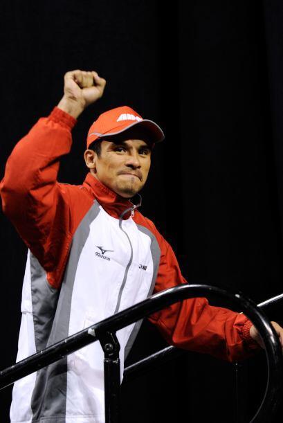Juan Manuel 'Dinamita' Márquez llegó confiado a su prueba...