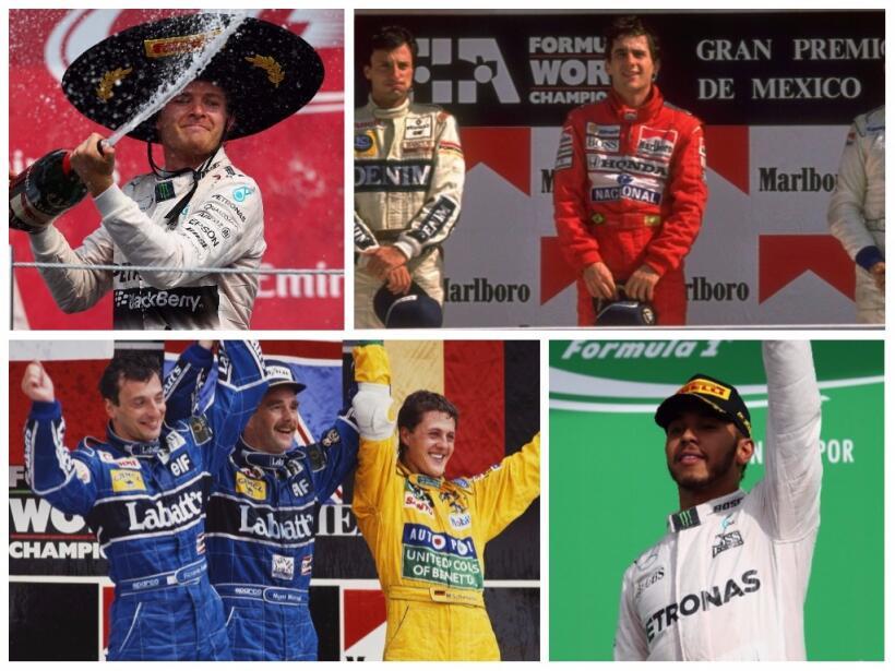 Lewis Hamilton, campeón de la Fórmula 1 tras Gran Premio de México gp-me...