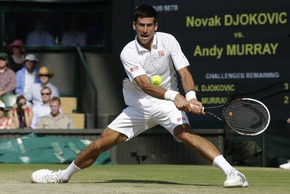Djokovic tuvo muchos errores que le costaron el título, el cual ganó el...