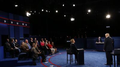 Trump dominó las mentiras en el segundo debate presidencial