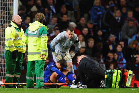 Una lesión lo marginó de las canchas y perdió su puesto de titular.