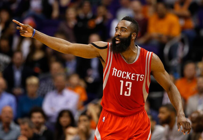 James Harden, la barba brilló en las duelas