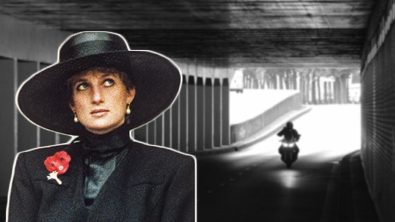 Diana Spencer entró sonriente y con vida al túnel del Alma...