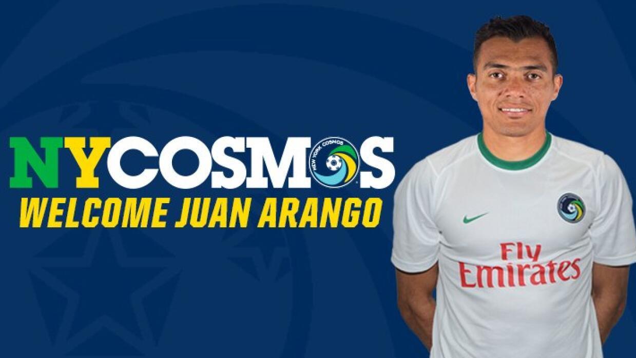 Juan Arango ficha por el New York Cosmos