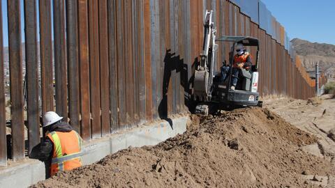 Construcción del muro fronterizo comenzaría en marzo o abril de 2018