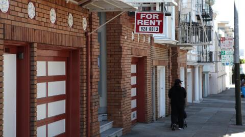 Una vivienda busca ser arrendada en San Francisco, California, donde la...