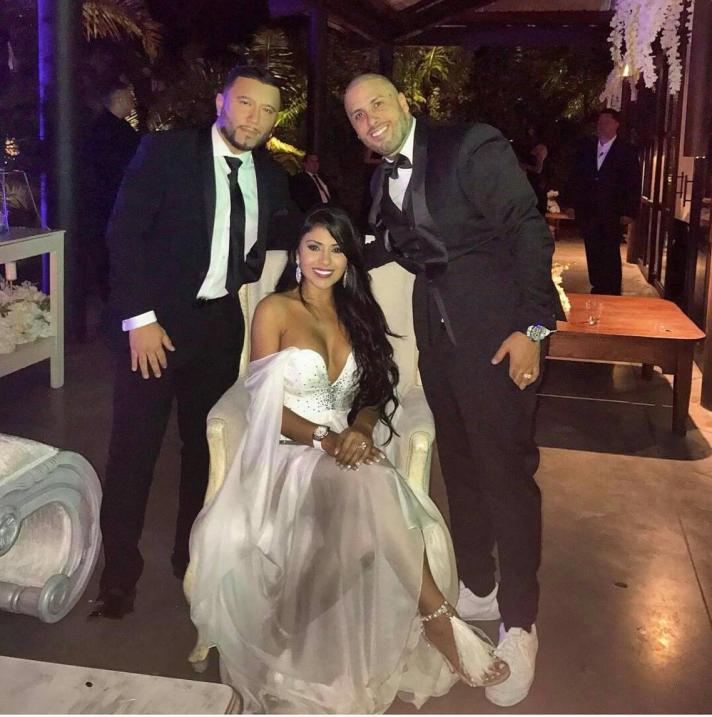 Nicky Jam y Angélica Cruz se casaron el 3 de febrero en Medell&ia...