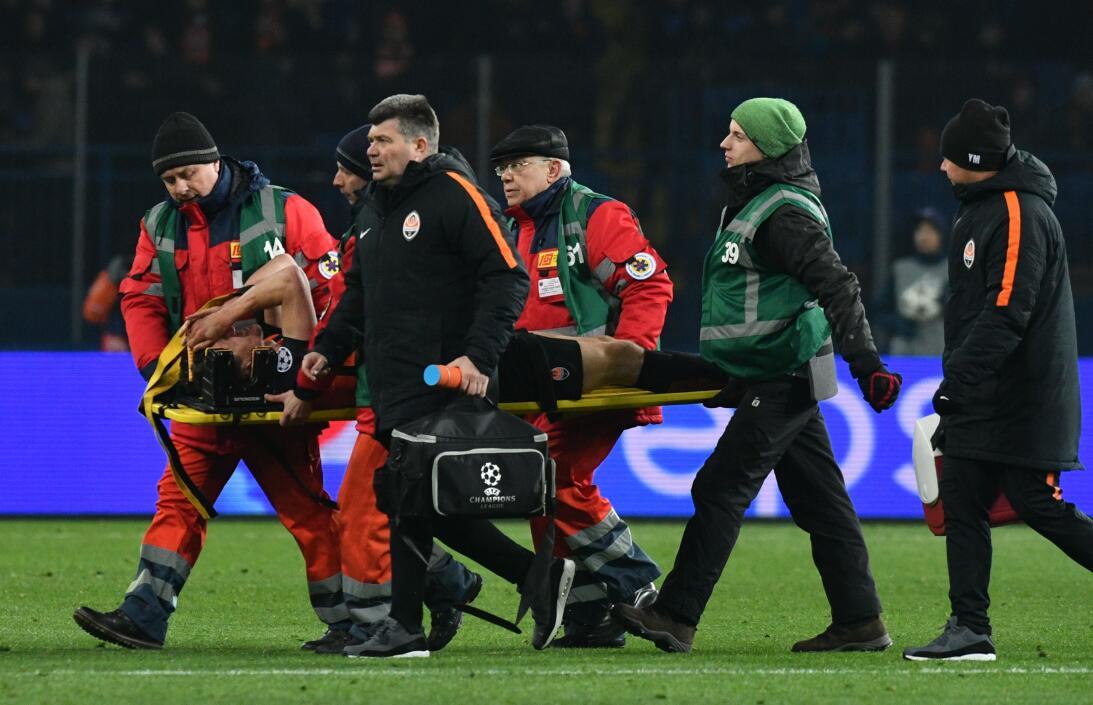 En fotos: Shakhtar Donetsk remontó y venció 2-1 a Roma en la ida de octa...
