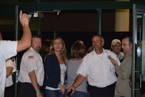Los guardias de seguridad del Centro de Convenciones no sabían que hacer.