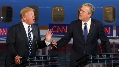 Opinión: Una opción clara en Seguridad Nacional GettyImages-Trump-Bush.jpg