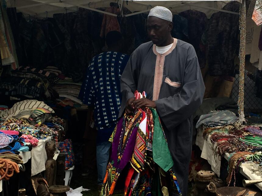 En la última década se incrementó la inmigración africana en la ciudad.