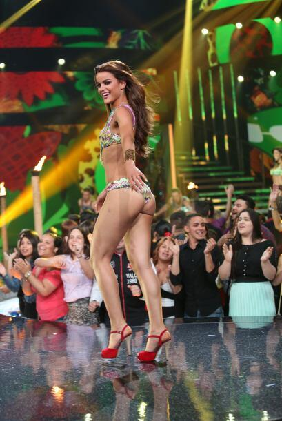 El escenario de Nuestra Belleza Latina se calentó con las exquisitas cur...
