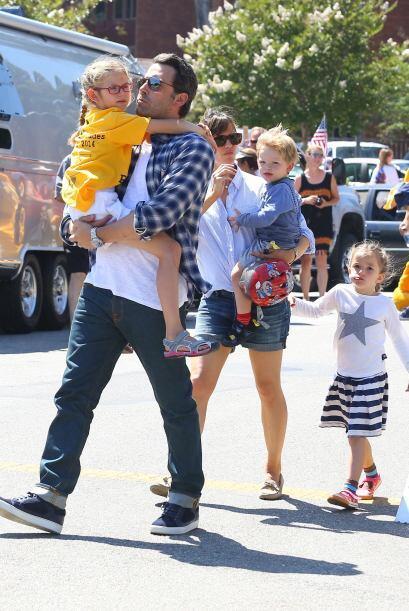 Entre los favoritos también están los hijos de la actriz Jennifer Garner...