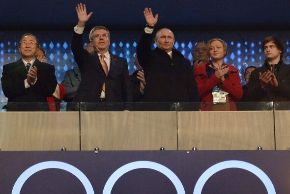 Vladimir Putin, presidente de Rusia, fue el encargado de declarar abiert...