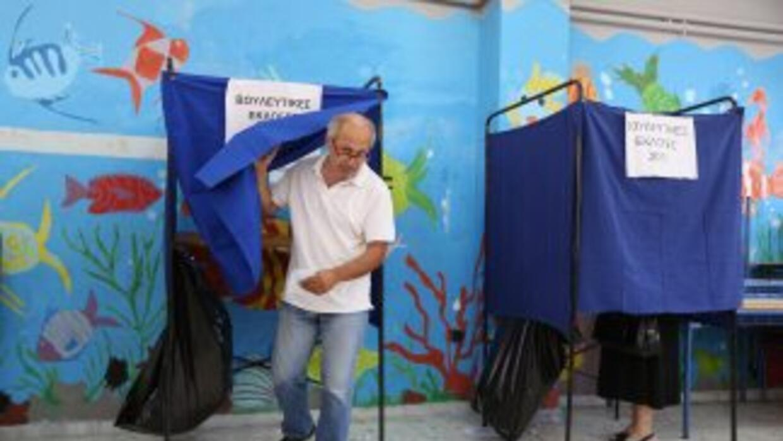 La formación conservadora Nueva Democracia (ND) fue el domingo el partid...