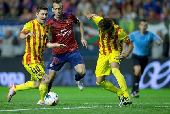 Terminó el partido sin goles y el Barcelona vio cortada su rcha p...