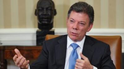 Juan Manuel Santos prevé que no haya obstáculos para aprobar el TLC con EU.