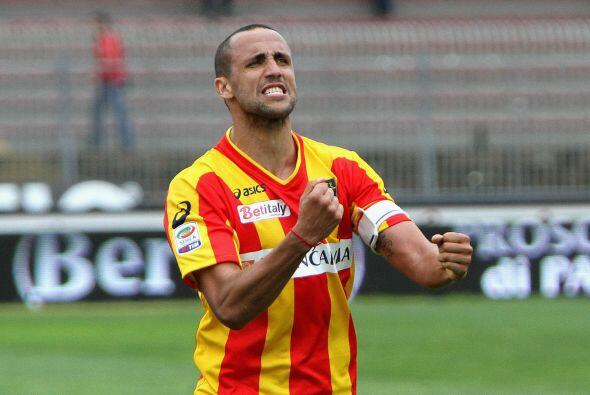 Al 87 el Lecce recortó la distancia con gol de Fabiano.