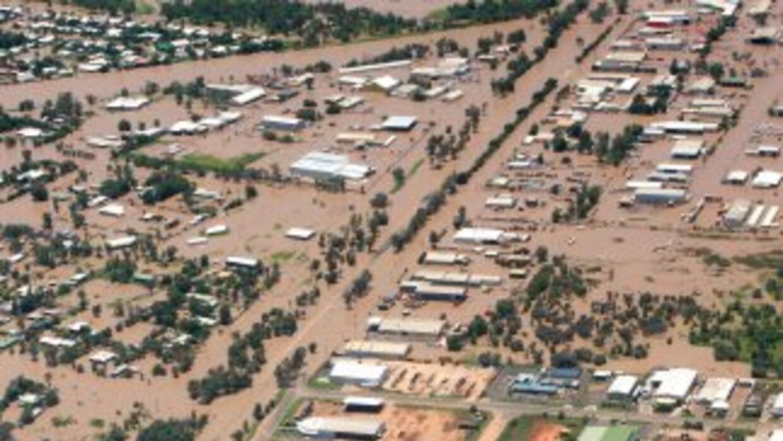 Las inundaciones se deben al reciente paso del ciclón Tasha por la regió...