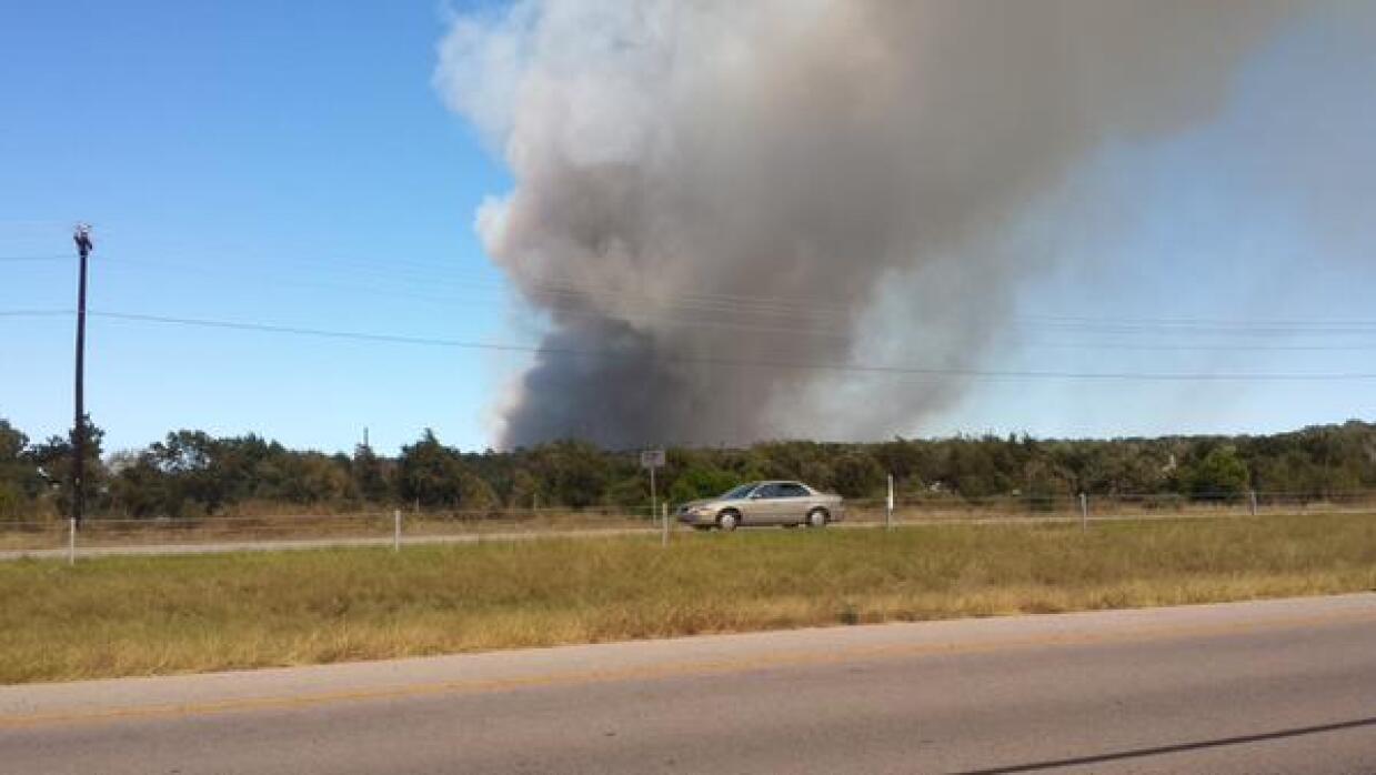 Incendio condado Bastrop