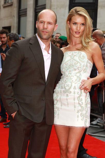 Jason Statham y Rosie Huntington-Whiteley se llevan nada menos que 20 añ...