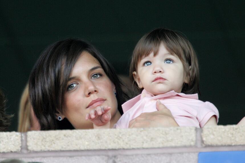 De pequeña, Suri Cruise guardaba un gran parecido con su madre, Katie Ho...