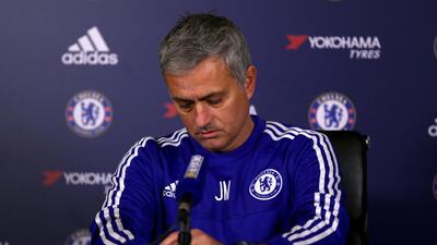 Mourinho dijo que se siente traicionado