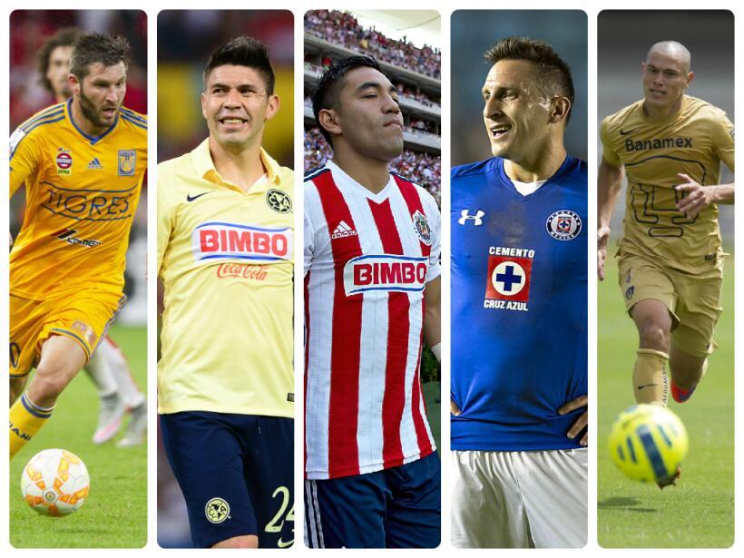 Figuras del Apertura 2015