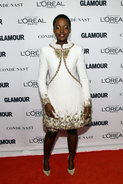 La revista Glamour le rindió un emotivo homenaje a Lupito Nyong'o...