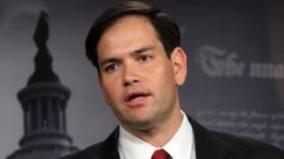 El nombre del Senador Marco Rubio (Florida) figura como uno de los posib...