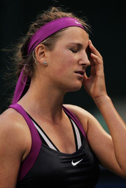 En la final del torneo de Carlsbad, Radwanska también venció a Azarenka...