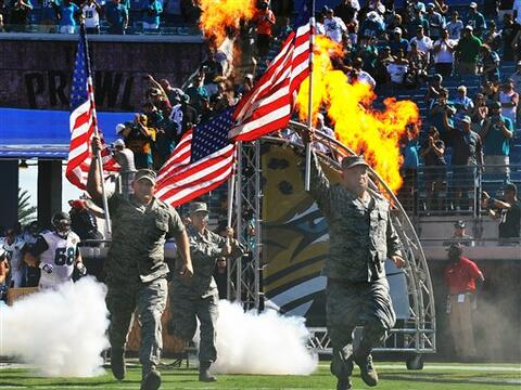 La NFL honró al Ejército de los Estados Unidos de Am&eacut...