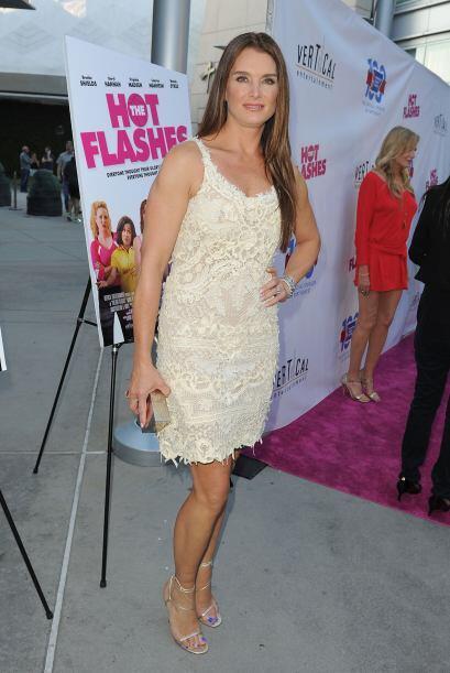 Brooke Shields no sólo se ha dado a conocer por su imponente belleza, si...