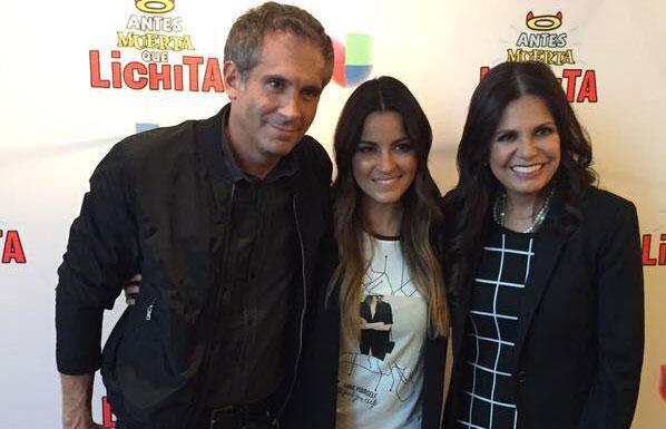 Arath de la Torre, Maite Perroni y Rosy Ocampo