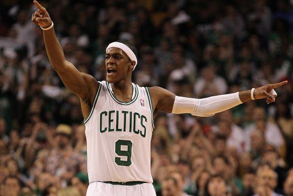 Rajon Rondo es, una vez más, el termómetro de los Celtics. Tiene las gan...