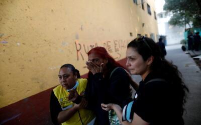 Algunas escenas de pánico se vieron en la capital mexicana, pero...