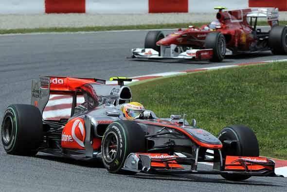 Hamilton logro el récord de la vuelta más rápida, p...