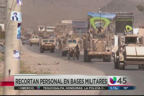 Parece que la crisis económica empezó a afectar a las Fuerzas Armadas de...