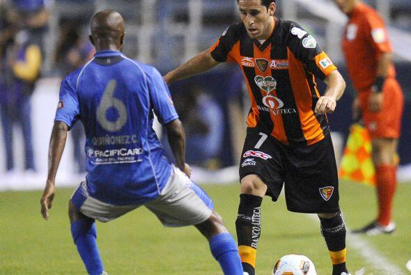 Emelec de Ecuador derrotó 1-0 a Jaguares de Chiapas con gol de Ma...