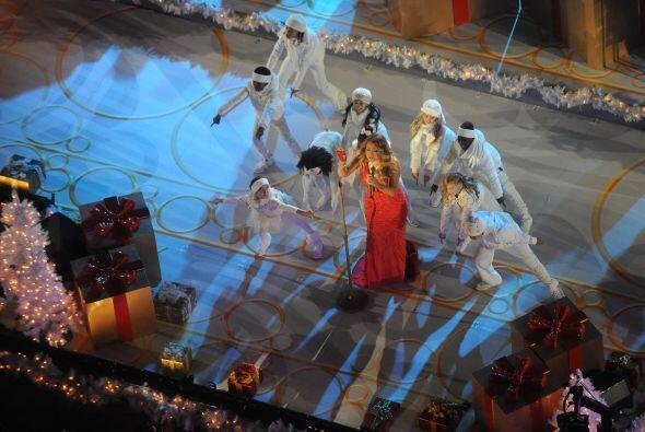 Mariah puso el ambiente para que llegaran otros grandes de la canción.