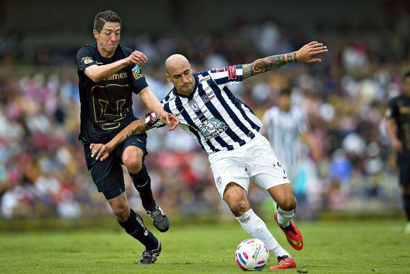 El argentino está cada vez más adaptado al fútbol mexicano por lo que se...