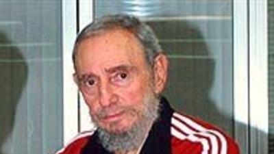 """Fidel Castro acusó a Obama de """"compartir el genocidio contra palestinos""""..."""