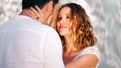Victoria y Raúl se casaron en un ritual de la naturaleza