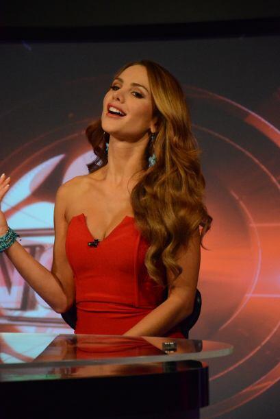 Jimena Córdoba impactó a la jauría con su belleza y sensualidad