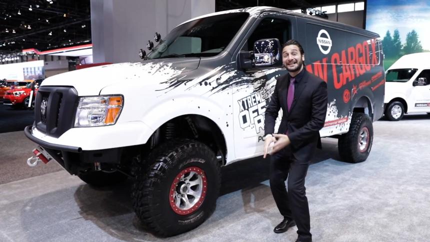 Los 'Trucks' del Auto Show de Chicago Univision_ Screen Shot 2017-02-13...