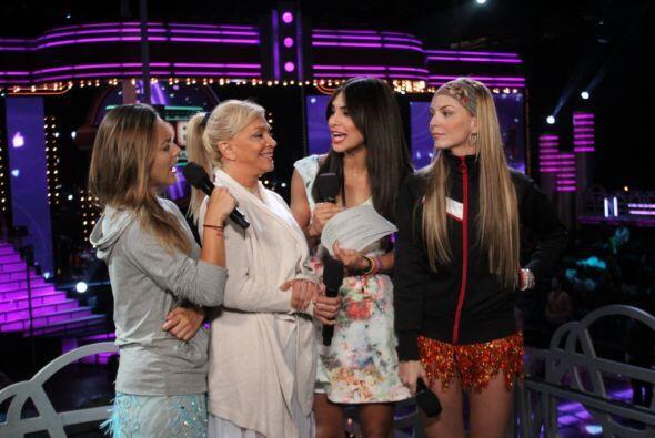 María Elisa Camargo, Yolanda Monge y Marjorie de Sousa son tres bellas q...