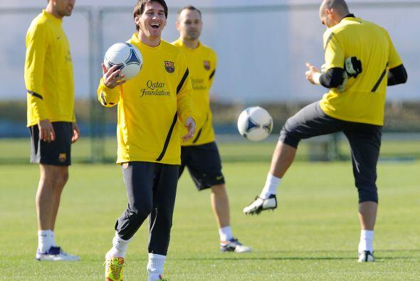 Lionel Messi era de los futbolistas más sonrientes.