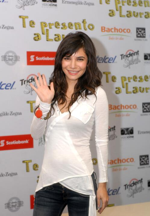 También salió en 'Te presento a Laura', con Martha Higareda en 2010.