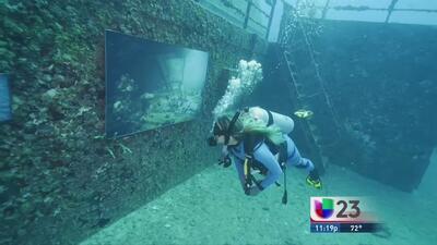 Exhibición de fotografía surrealista en aguas de Key West